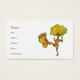 Kung Fu Tree Profile Card Template