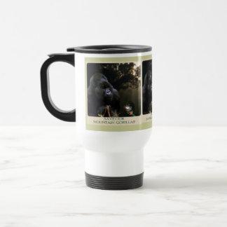 Kunga Mountain Gorilla & Frog Travel Mug