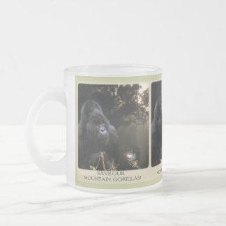 Kunga Mountain Gorilla Wildlife-supporter Mug