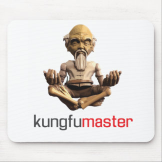 Kungfu master cool mouse pad