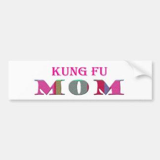 KungFuMom Bumper Sticker