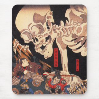 Kuniyoshi Skeleton Mouse Pad