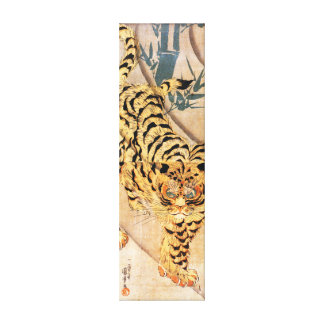 Kuniyoshi Tiger Canvas Print