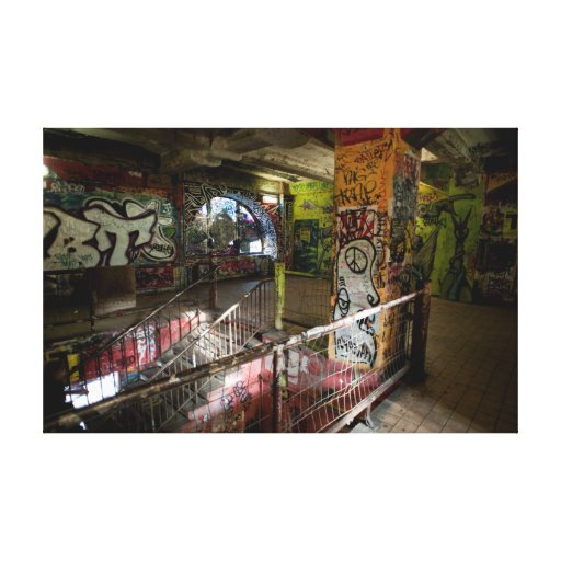 Kunsthaus Tacheles Interior Gallery Wrap Canvas