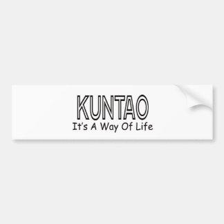Kuntao It s A Way Of Life Bumper Sticker