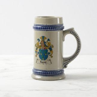 Kunz Family Crest Beer Stein