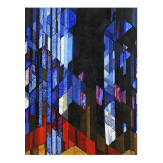 Kupka The Cathedral Fine Art Postcard