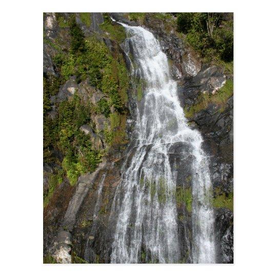 Kuranda Scenic Railway Waterfall Postcard