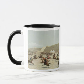 Kurdish and Tatar Warriors at Sadar Abbat, Armenia Mug