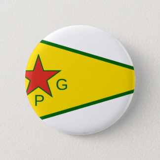 Kurdish Freedom Fighters 6 Cm Round Badge