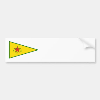 Kurdish Freedom Fighters Bumper Sticker