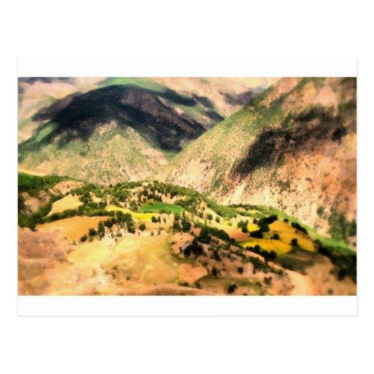 Kurdish Village in High Plato Postcard