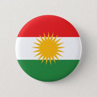 kurdistan 6 cm round badge