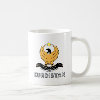 Kurdistan Coat of Arms Basic White Mug