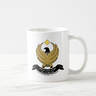 Kurdistan Coat of Arms detail Basic White Mug
