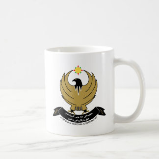 Kurdistan Coat of Arms detail Coffee Mugs