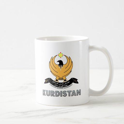 Kurdistan Coat of Arms Mugs