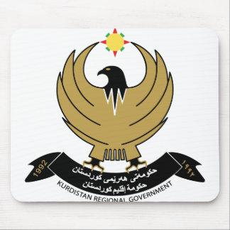 kurdistan emblem mousepad