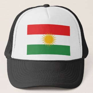 Kurdistan ethnic flag trucker hat