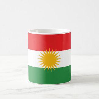 Kurdistan Flag Basic White Mug