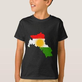 Kurdistan flag map T-Shirt
