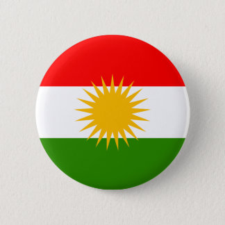 Kurdistan High quality Flag 6 Cm Round Badge