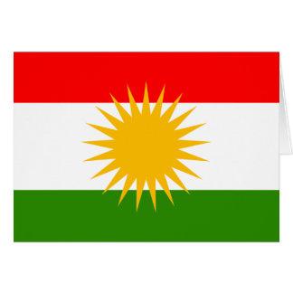 Kurdistan High quality Flag Greeting Card