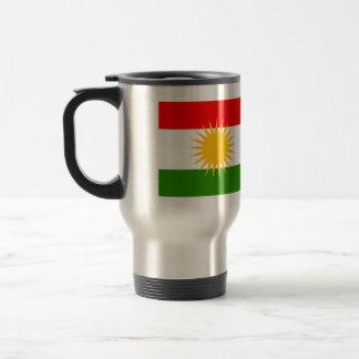 Kurdistan High quality Flag Stainless Steel Travel Mug