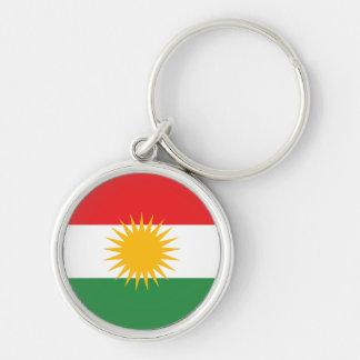 kurdistan Silver-Colored round key ring