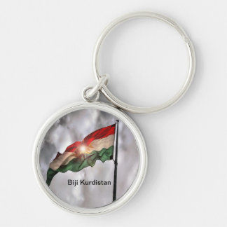 Kurdistan key supporter key ring