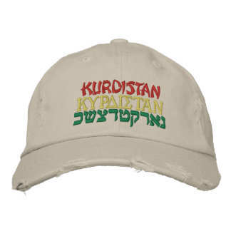 KURDISTAN, KURDISTAN, KURDISTAN EMBROIDERED HAT