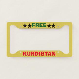 Kurdistan License Plate Frame
