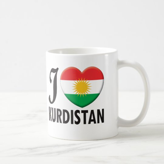 Kurdistan Love Coffee Mug