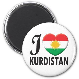 Kurdistan Love Magnet