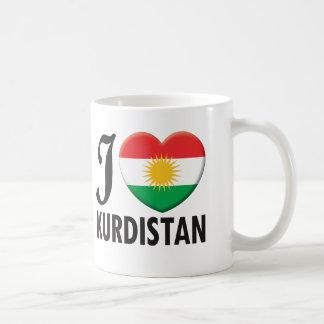 Kurdistan Love Basic White Mug
