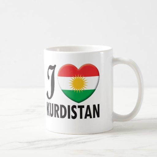 Kurdistan Love Mugs