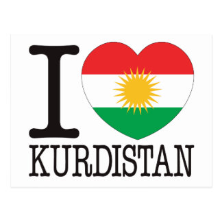 Kurdistan Love v2 Post Cards