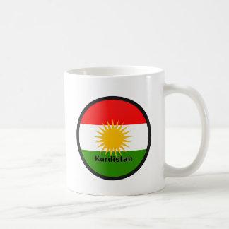 Kurdistan Roundel quality Flag Coffee Mug