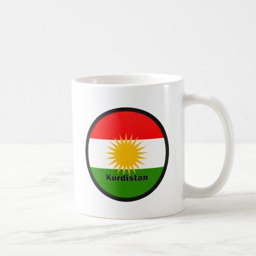 Kurdistan Roundel quality Flag Mugs