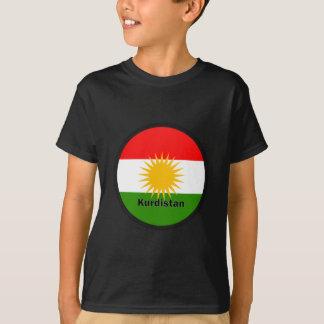 Kurdistan Roundel quality Flag Tshirt