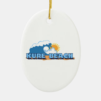 Kure Beach. Christmas Ornament