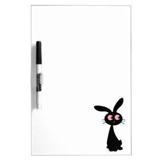 Kuro Bunny I Dry Erase Board