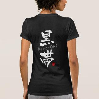 Kuro-Obi KANJI Budo terms Shirts