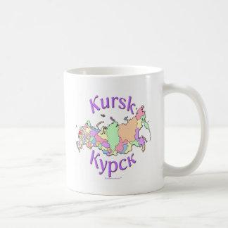 Kursk Russia Map Mugs