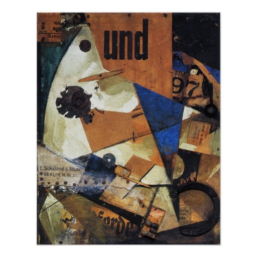 Kurt Schwitters, Das Undbild, 1919-PRINT-SUPER SIZ