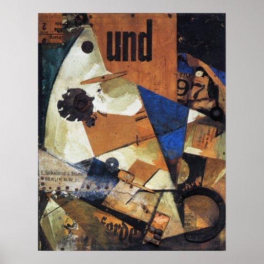 Kurt Schwitters, Das Undbild, 1919-PRINT-SUPER SIZ Poster