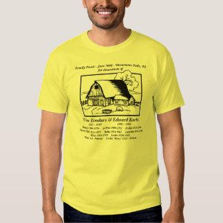 Kurtz Family Picnic T Shirts