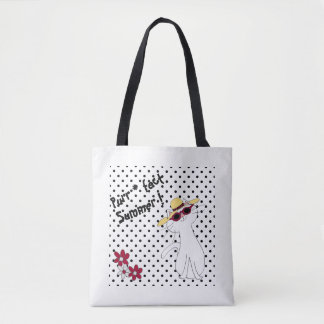 Kute Kitty Purr*fect Summer Tote Bag