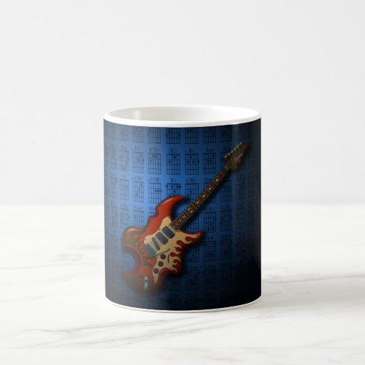 KuuMa Guitar 01 (B) Mugs