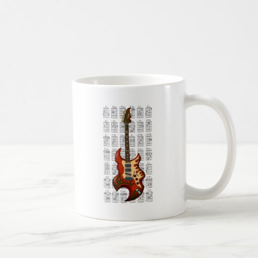 KuuMa Guitar 01 Mugs